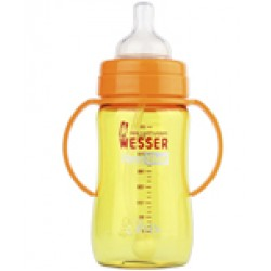 Bình sữa WESSER cổ rộng 260ml