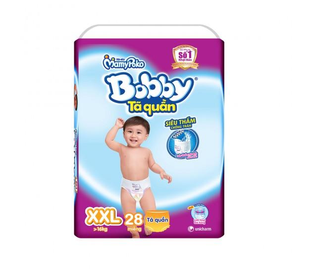 Tã quần Bobby size XXL - 28 miếng ( trẻ trên 17kg )