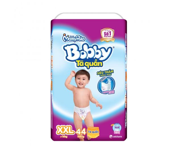 Tã quần Bobby size XXL - 44 miếng ( trẻ trên 17kg )
