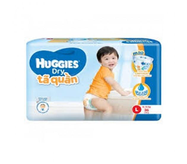Tã quần Huggies size L 36 miếng ( trẻ từ 8-13kg )