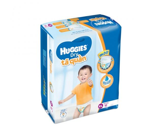 Tã quần Huggies size XL 62 miếng ( trẻ từ 12-17kg )